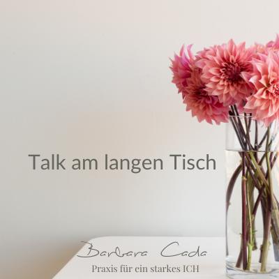 Themen, Abend, langer Tisch, talk